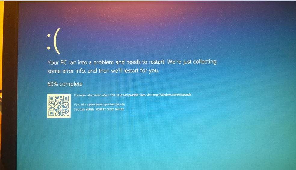 Bug check 0x139 kernel_security_check_failure - windows drivers   microsoft docs