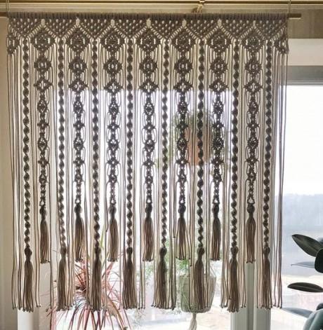 Макраме - основы техники и распространенные схемы плетения