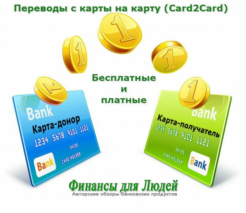 Денежные переводы через card2сard от альфа - банка