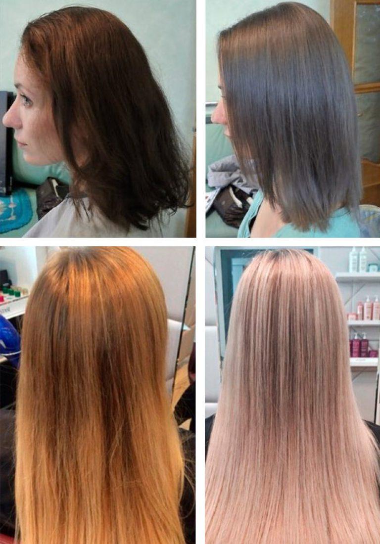 Тонирование волос: разновидности, техника выполнения
