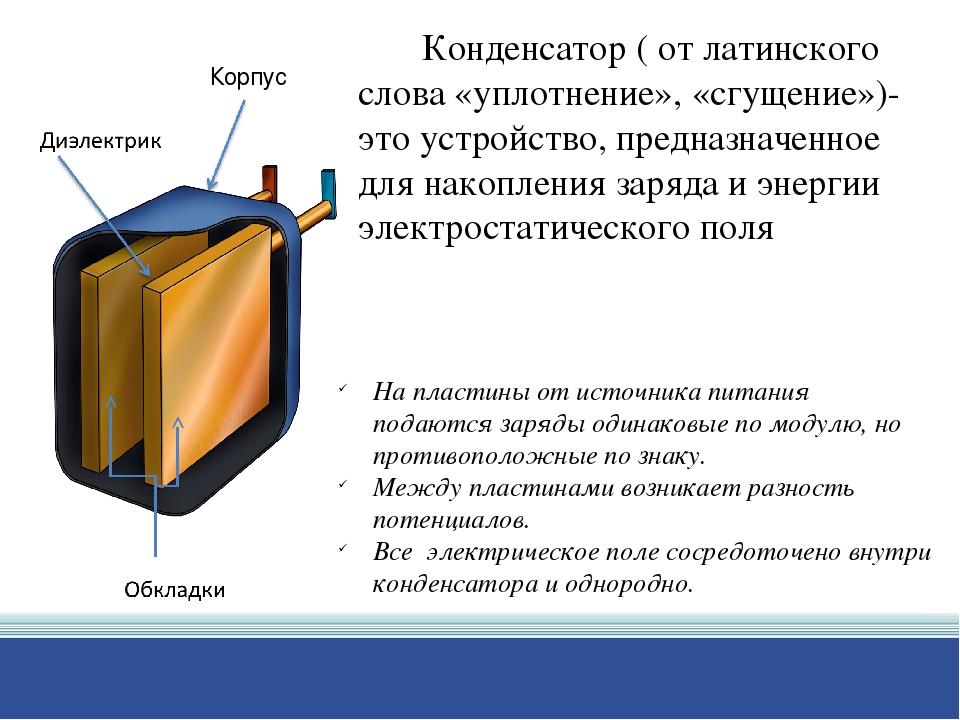 Ёмкость конденсатора: что такое конденсатор и для чего нужен, типы и виды, расчёт