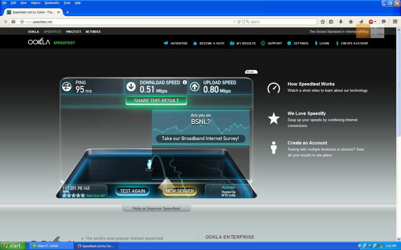 Описание скорости интернета, от чего она зависит