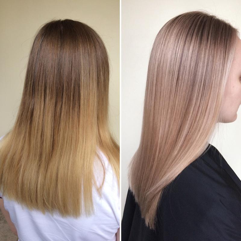 Все о тонировании волос