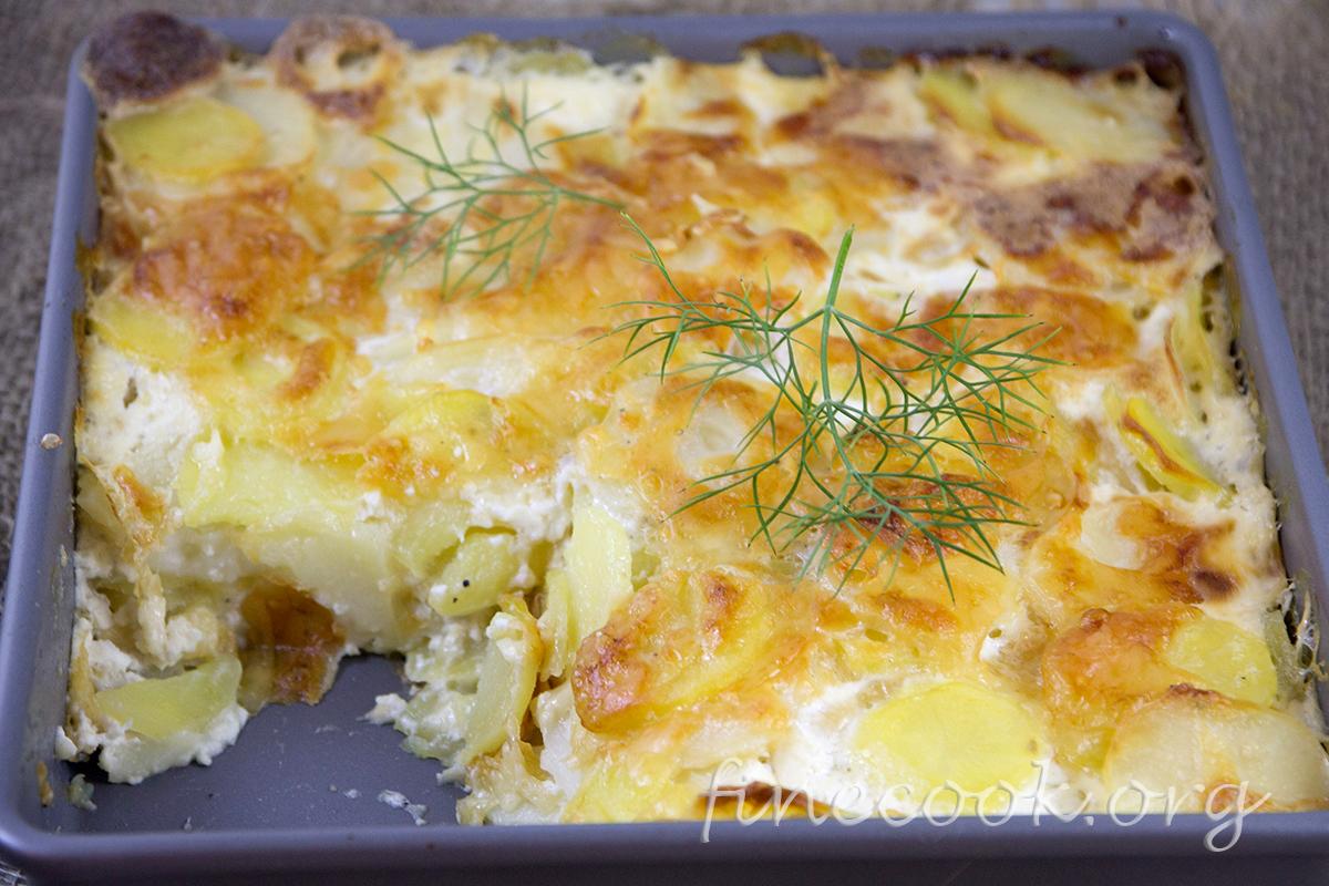 """Гратен из мяса и овощей """"французский поцелуй"""" – кулинарный рецепт"""