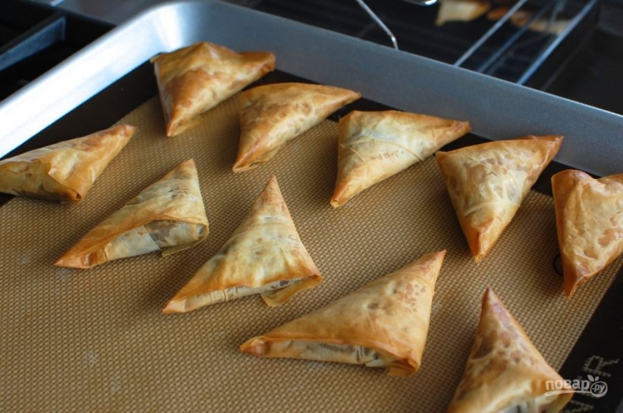 Сырный пирог из теста фило – кулинарный рецепт