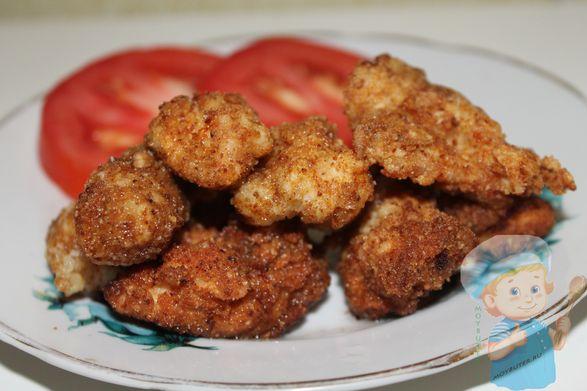 Наггетсы в домашних условиях - очень быстрое блюдо для всей семьи!