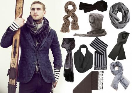 Кашне мужское - что это такое - как и с чем носить