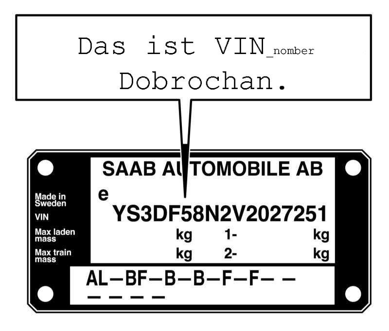 Что такое vin-код автомобиля и как его расшифровать