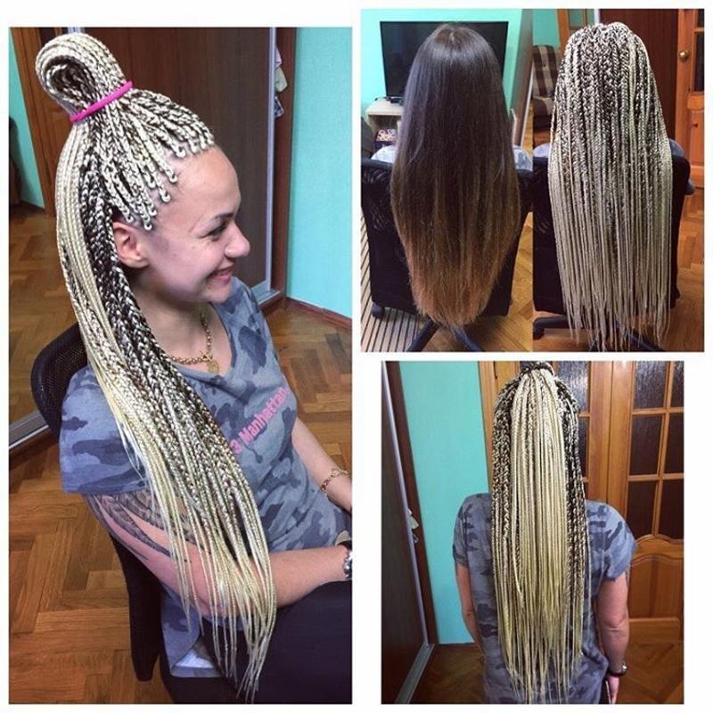 Косички-зизи – 30 фото самых модных причесок на любую длину волос