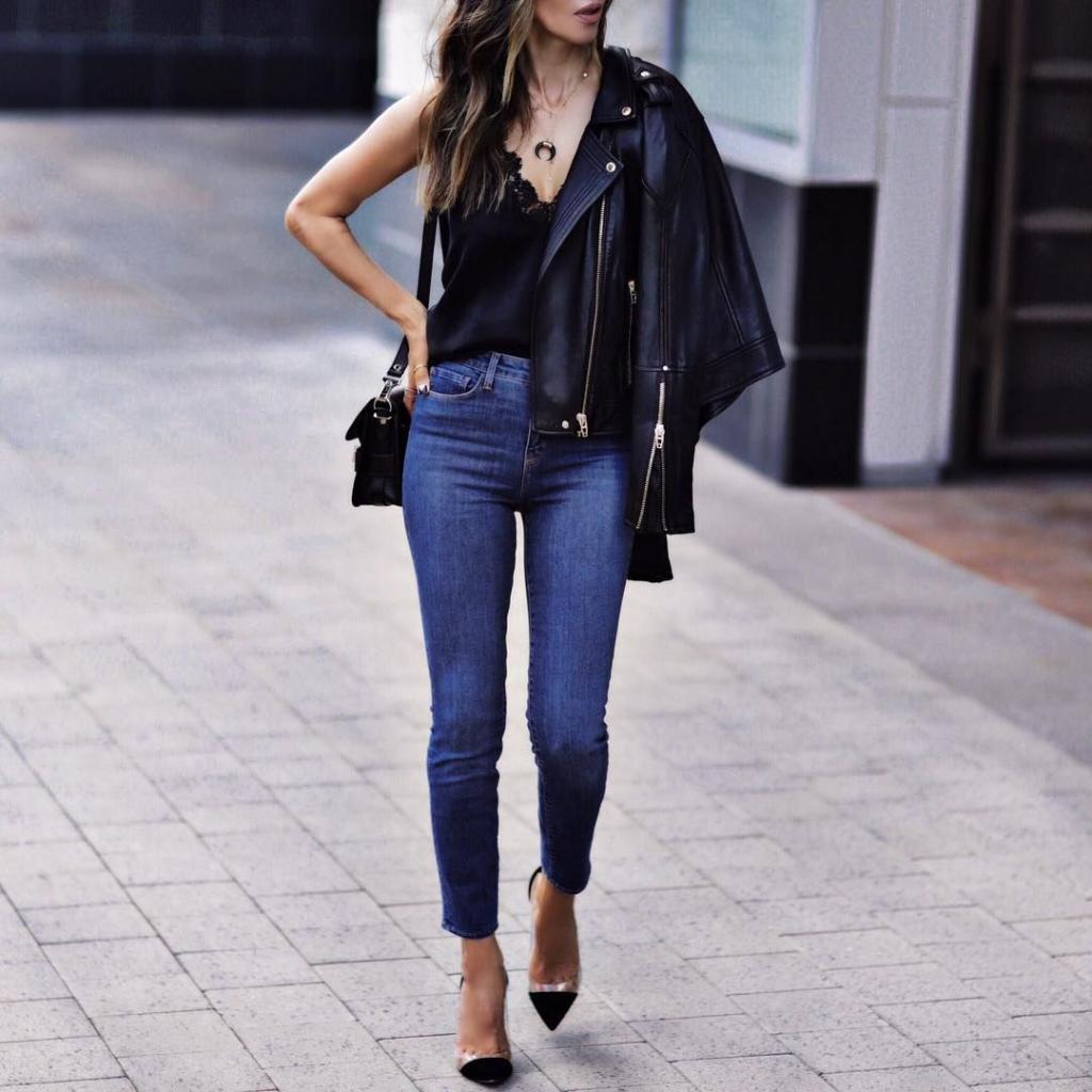 Ответы стилистов на вопросы о джинсах скинни
