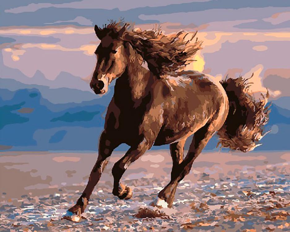 Где встречается такое, что конь через коня перепрыгивает?