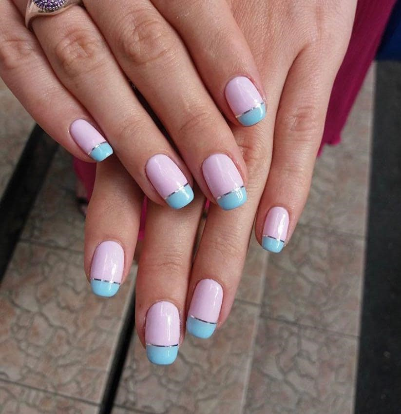 Комбинированный маникюр- особенности и техника выполнения комбинированный маникюр- тандем разных nail техник – womanmirror