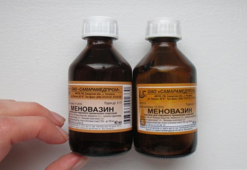 Меновазин: состав, показания, дозировка, побочные эффекты