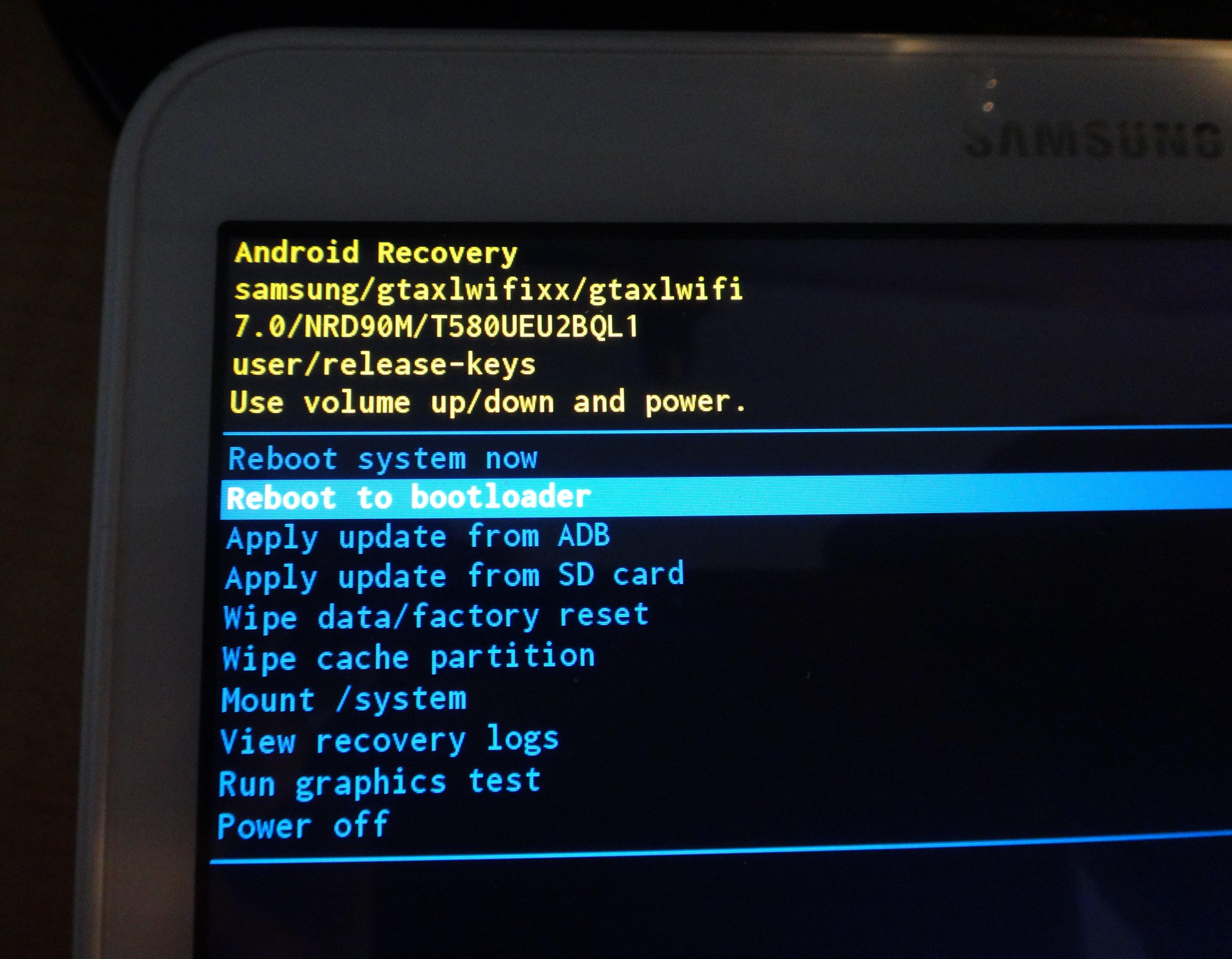 Что значит reboot system now на андроид. hard reset – восстановление системы android