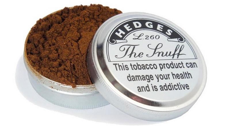 Снафф (нюхательный табак): как его нюхать и какие последствия?
