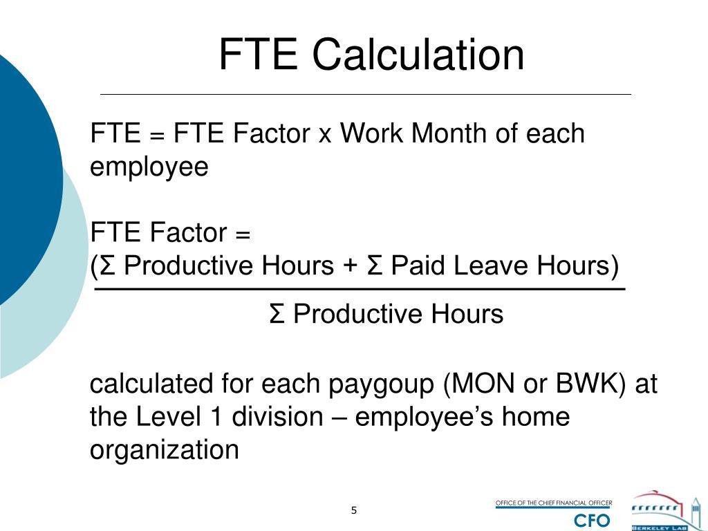 Fte – определение. примеры и методика расчётов