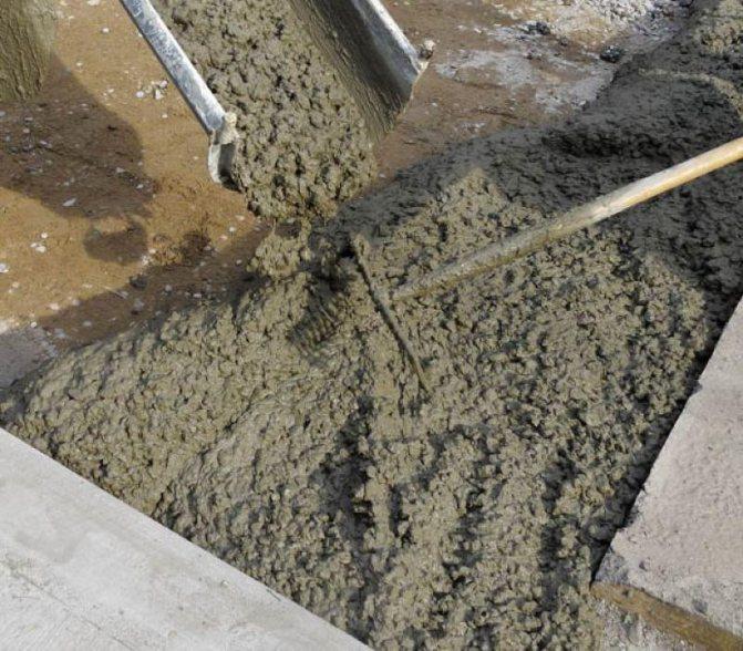Тощий бетон - что это такое: марка, состав, фото