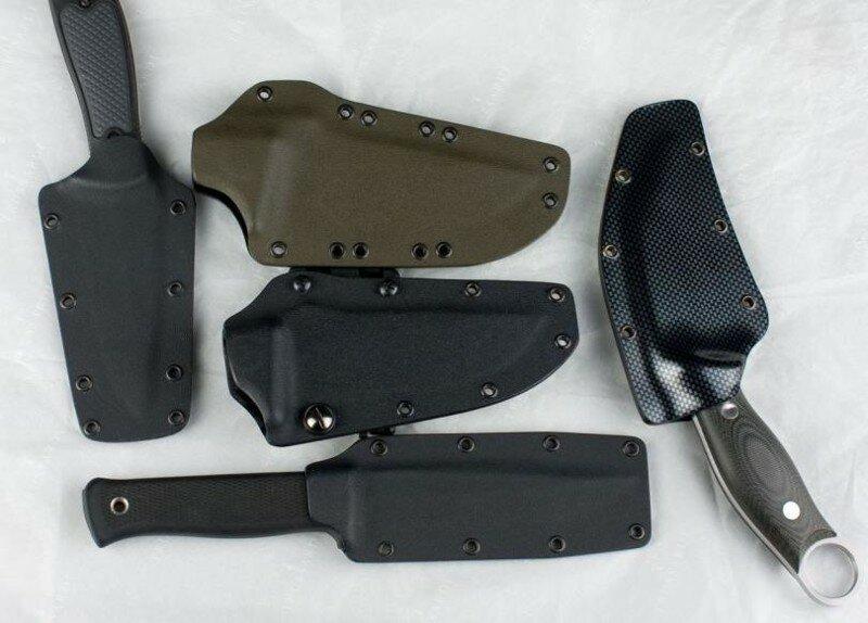 Описание способов изготовления ножен для ножа своими руками
