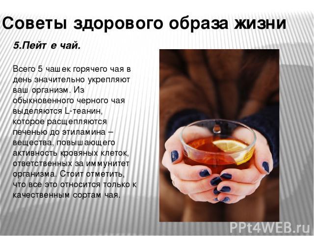 5 компонентов здорового образа жизни