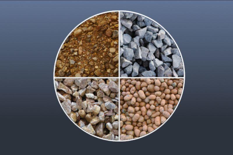 Гравий: добыча, свойства, применение