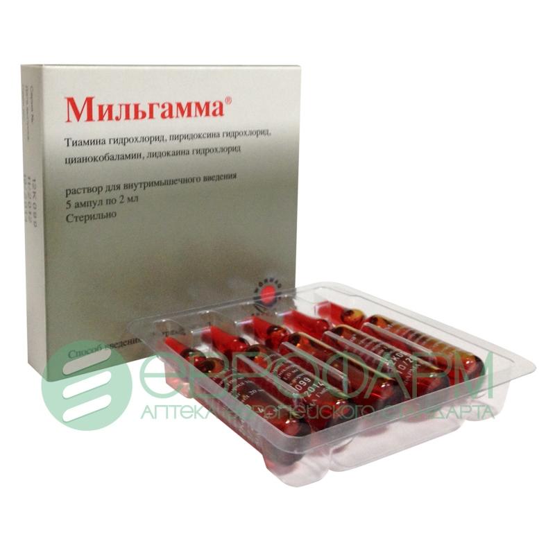 Мильгамма – инструкция по применению, показания, дозы