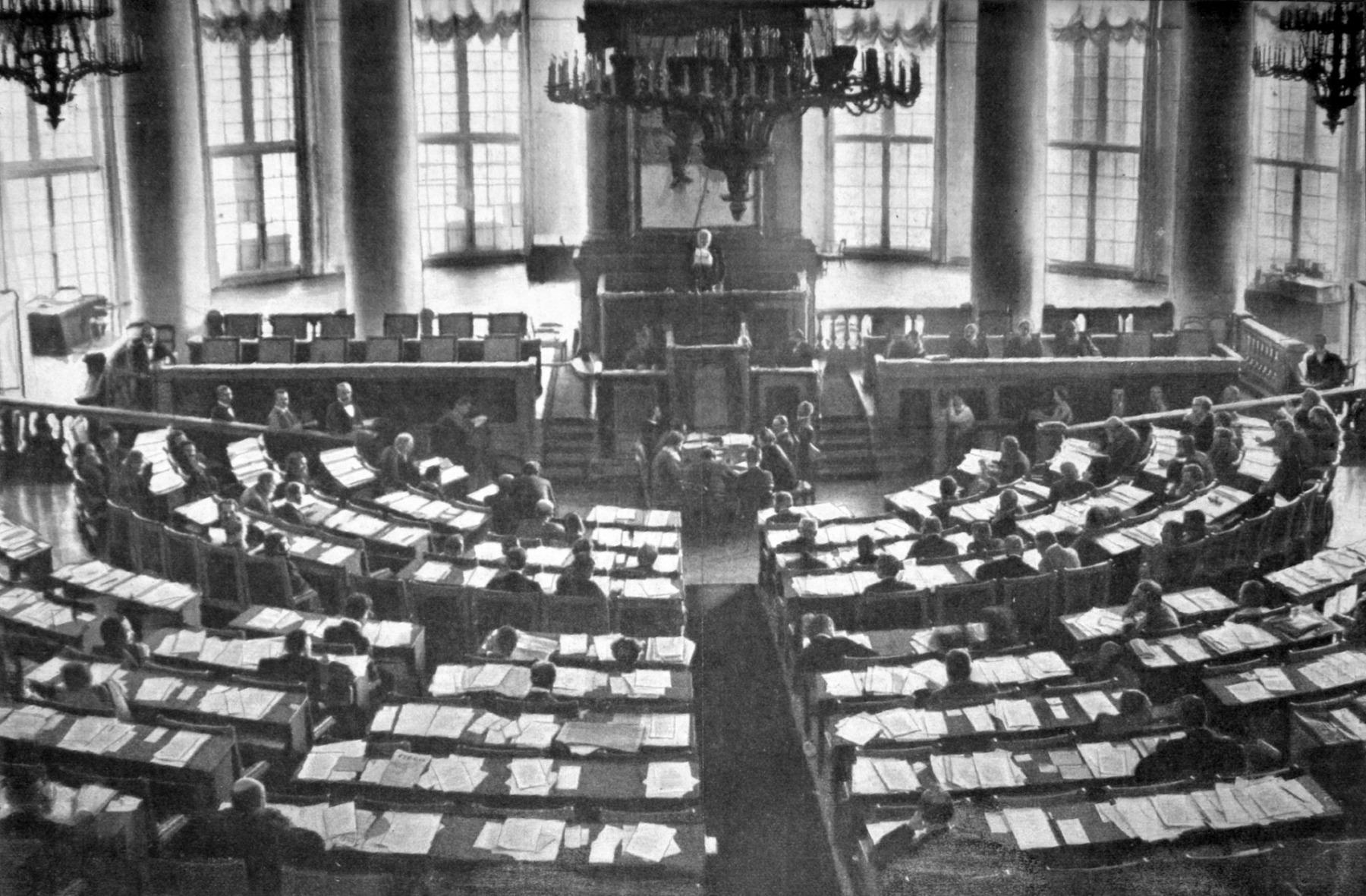 Краткая история учредительного собрания