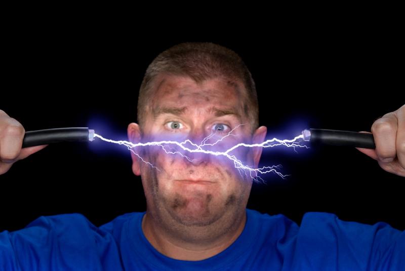 Энциклопедия - удар электрического тока