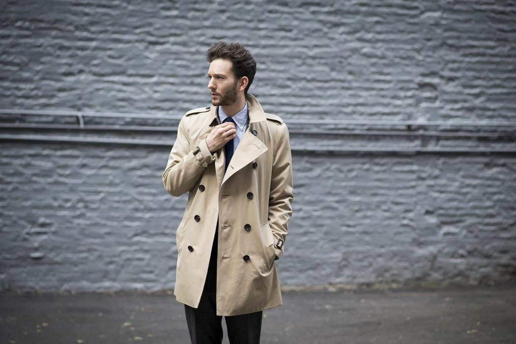 С чем носить тренчи: комбинации для разных цветов и длины.