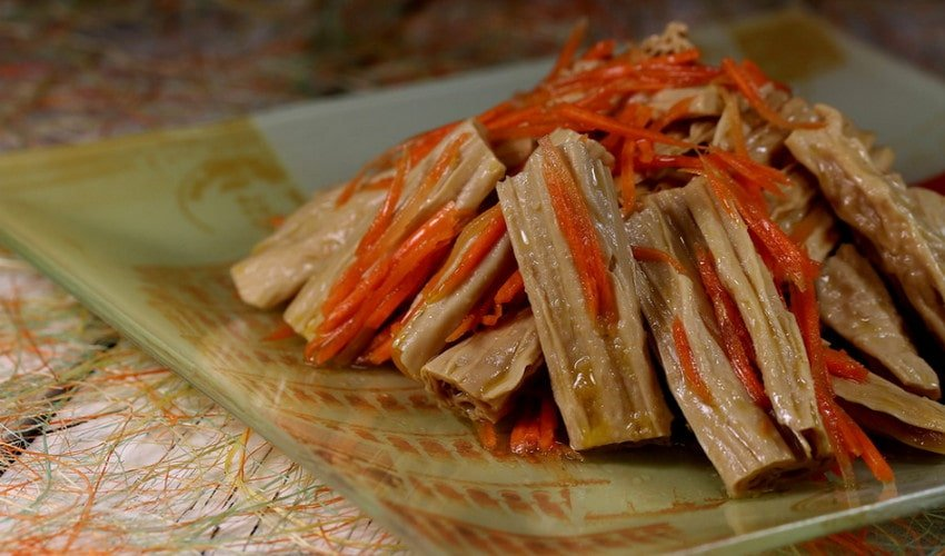 Спаржа по-корейски - вкусные рецепты оригинальной пикантной закуски