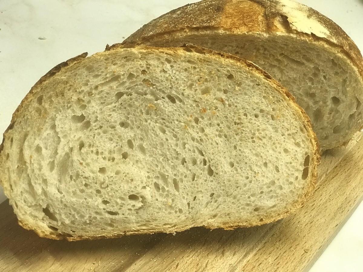 Пшеничный подовый хлеб честный состав рецепт. подовый хлеб: что это такое? белый подовый хлебушек