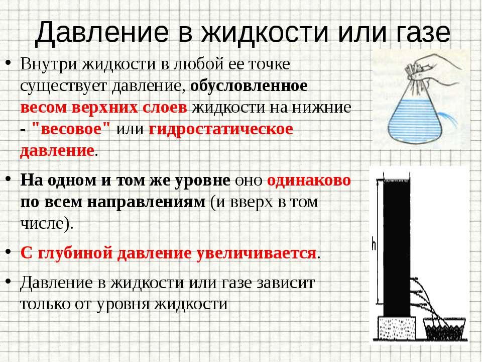 Сила давления воды: что это такое, где применяются знания, чему равна на дно и стенки сосуда, формулы расчета