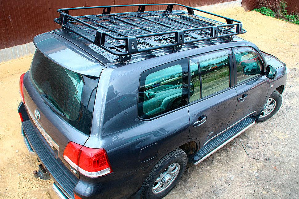 Экспедиционный багажник: виды, характеристики, особенности выбора.