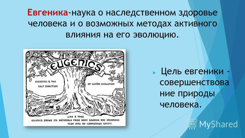 Евгеника | энциклопедия кругосвет