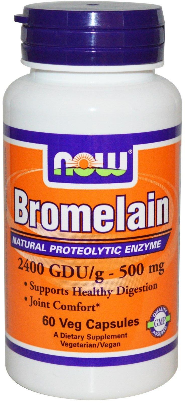 Бромелайн + продукты богатые бромелайном