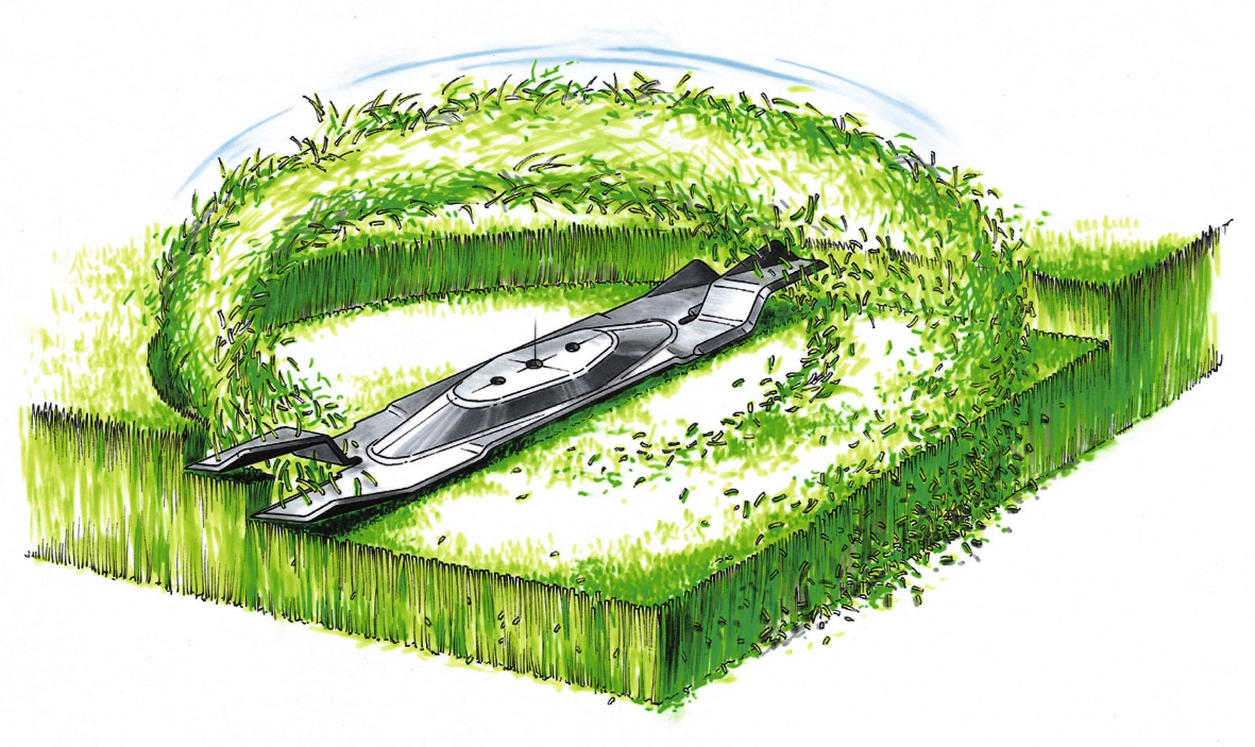 Газонокосилка с мульчированием: бензиновые, мульчирование газона, что это такое, электрическая, самоходная