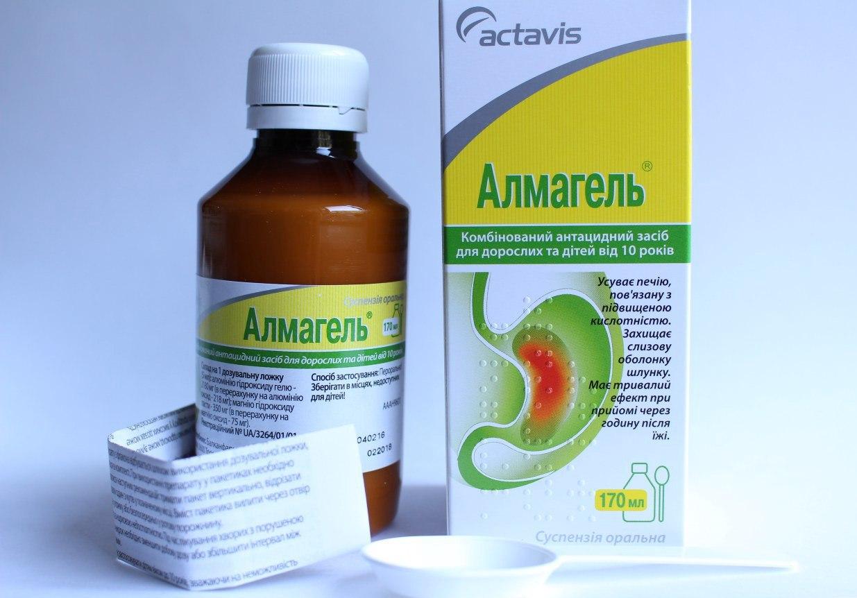 Антацидные средства— обволакивающие лекарства для желудка— обзор
