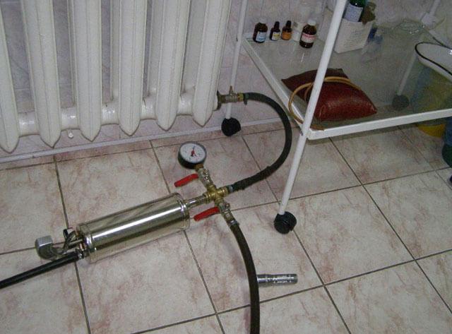 Построй домопрессовка системы отопления своими руками