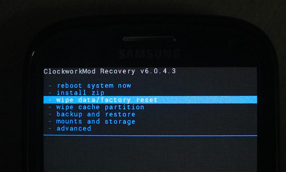Как сделать wipe data factory reset - пошаговое описание и рекомендации :: syl.ru