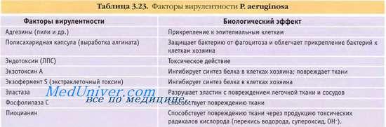 Синегнойная инфекция. pseudomonas aeruginosa (синегнойная палочка)