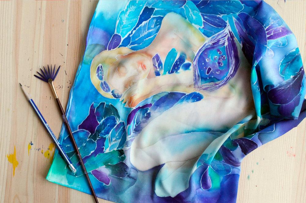 Горячий батик (22 фото): что это такое? техника выполнения росписи по ткани и история возникновения. как удалить резерв?