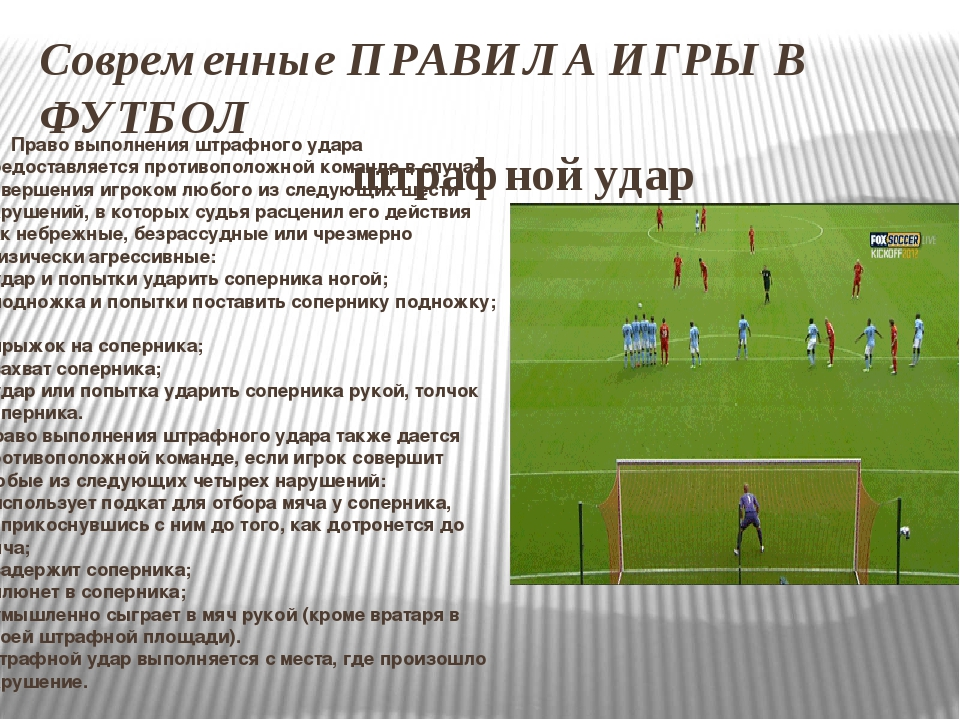Что такое пенальти в футболе