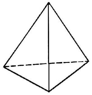 Усечённый тетраэдр — википедия. что такое усечённый тетраэдр
