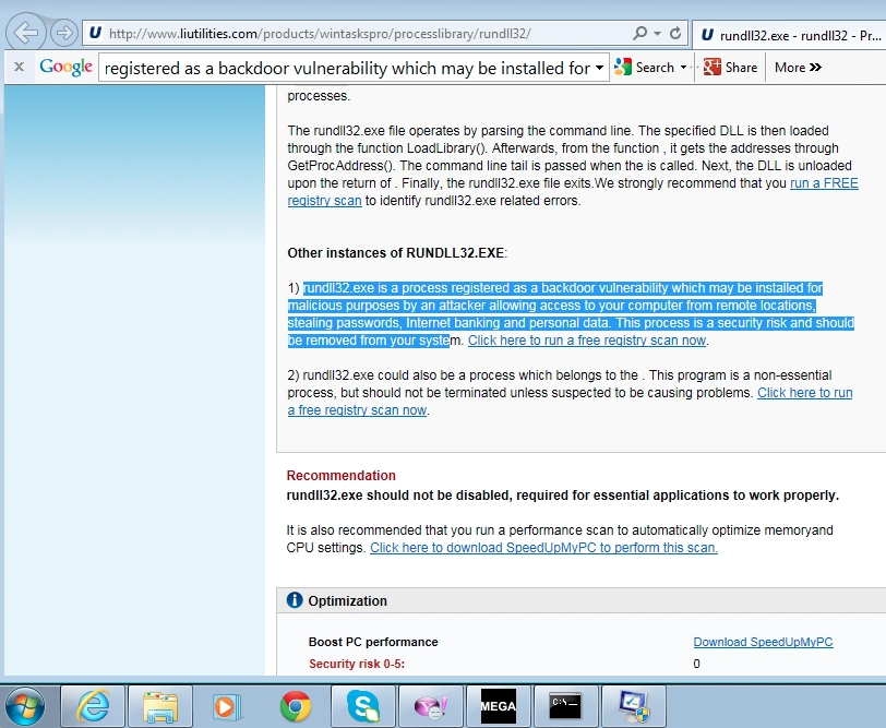 Что такое rundll32.exe-afcc02a7.pf? как исправить связанные с ним ошибки? [решено]