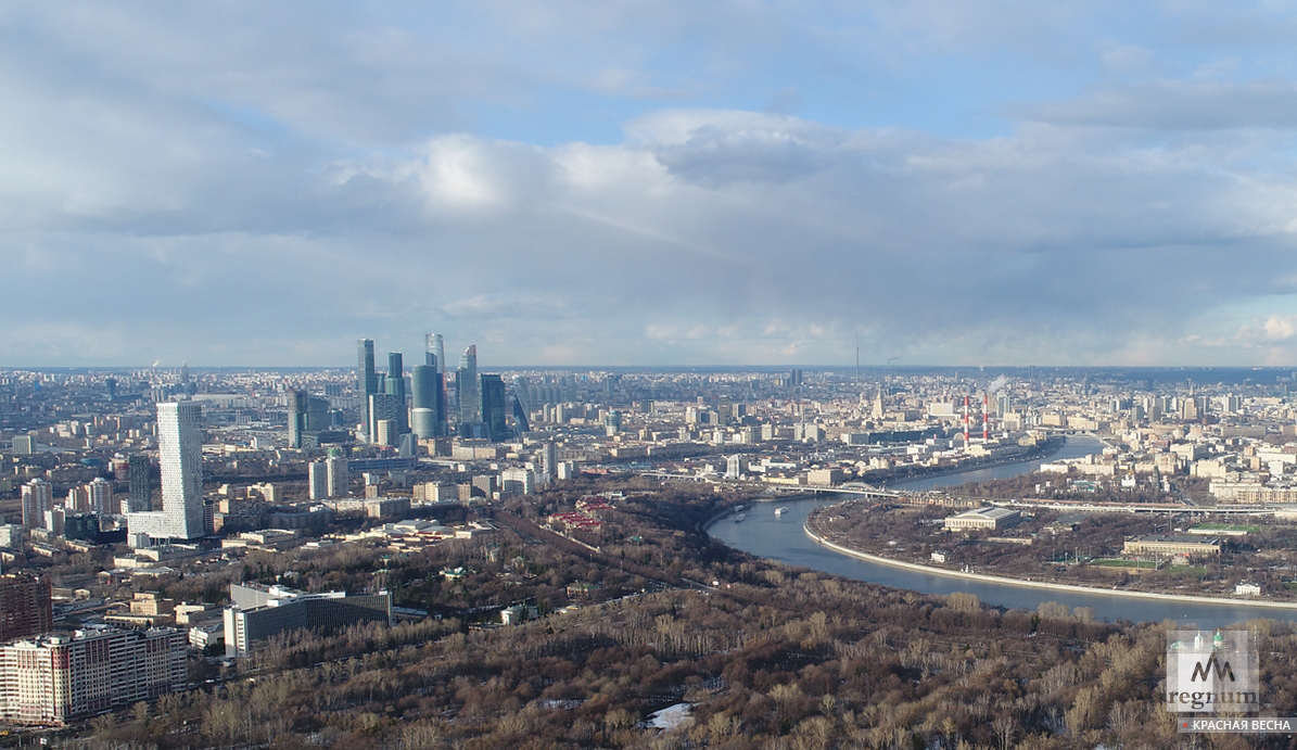 Москва – столица россии. о городе