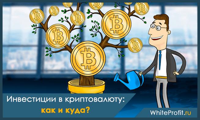 Инвестиции в криптовалюту для быстрого старта