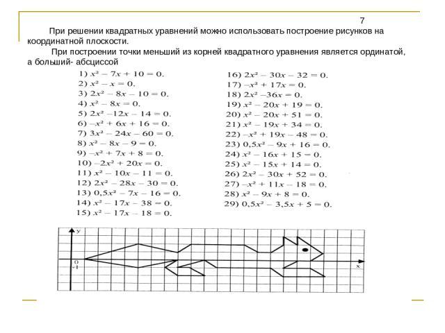 Координатная плоскость с координатами (6 класс, математика)