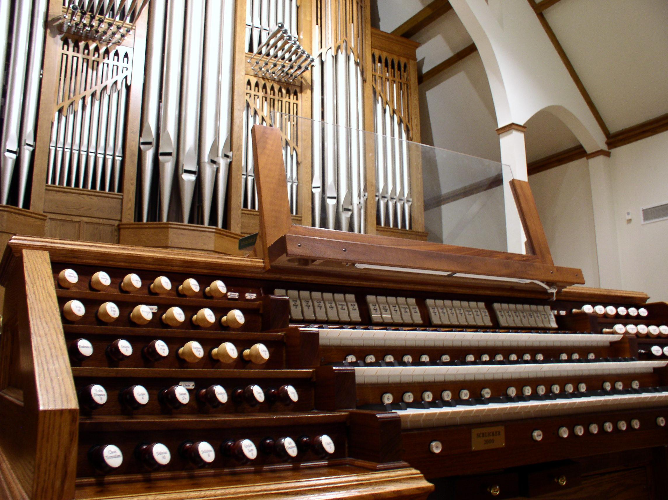 История органа