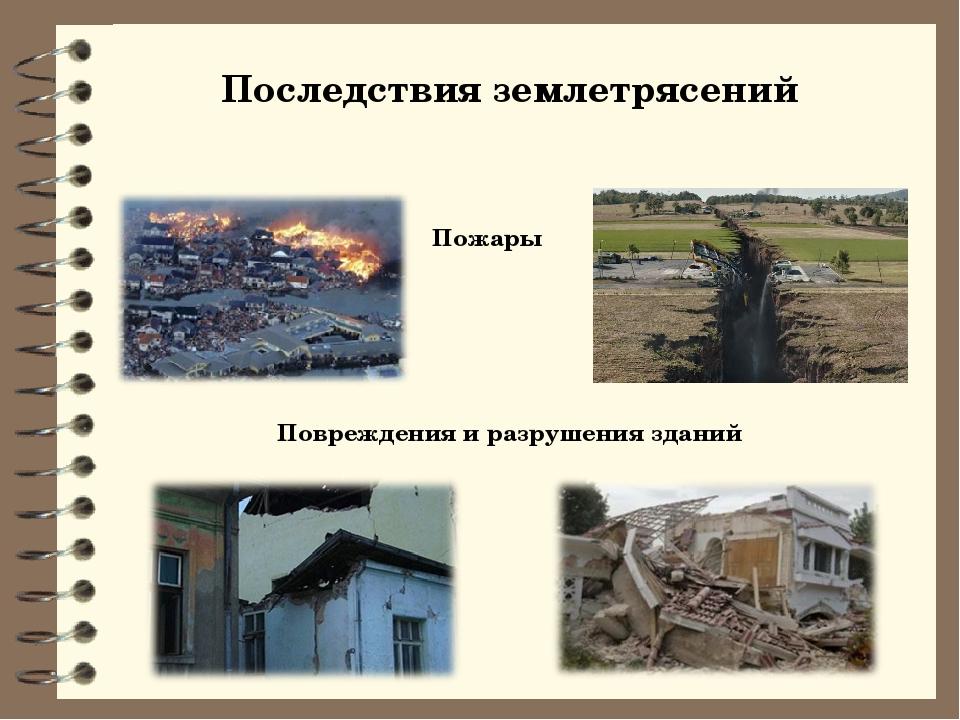Земные катастрофы — землетрясения