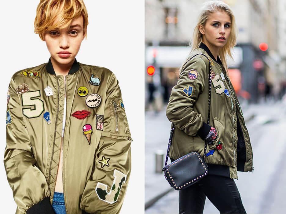 Куртка бомбер женская - история, виды