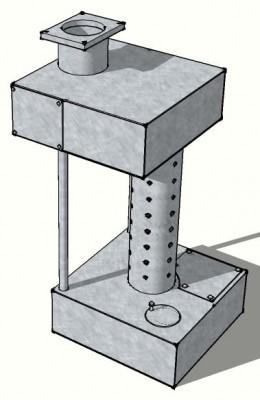 Изготовление кессона для скважины своими руками